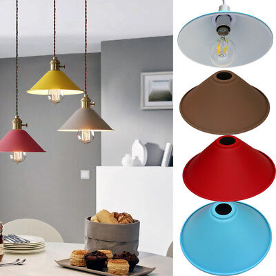 Vintage Metal Retro Light Shade Bedroom Kitchen Modern Style Light Shade only UK