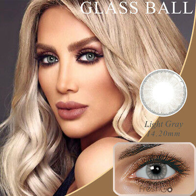1 Pair Big Eye Charming Colored Contact Lenses Unisex Cosmetic Makeup Tool Bello