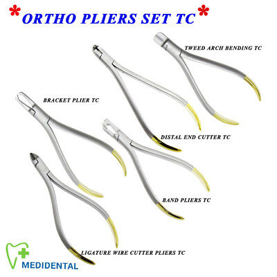 Ortho Tweed Arch Bending Ligature Wire Hard wire Distal End Cutter plier TC lab