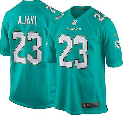 4dc2f477b MENS SMALL Nike MIAMI DOLPHINS Game Jersey JAY AJAYI NFL Shirt Home 5