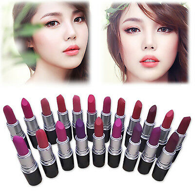 Beauty Makeup Waterproof Matte Lipstick Long Lasting Moisturizing Lip Gloss