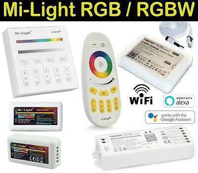Mi-light CONTROLLER Telecomando Wifi RGB  RGBW 4-Zone LED Set Striscia milight