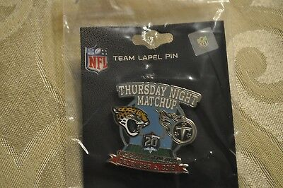 Tennessee Titans VS Jacksonville Jaguars Game Day Pin December 6, 2018