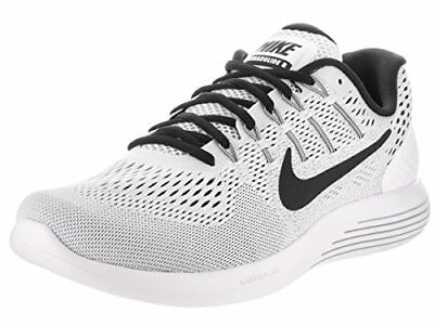 36e2acba9f7 Nike Lunarglide 8 Running Shoes White black Mens Size 11 New Aa8676-101