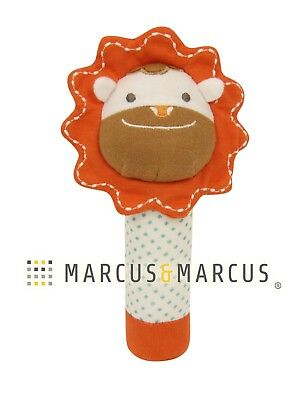Organic Cotton Rattle by Marcus & Marcus - Marcus the Lion