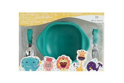 Toddler Mealtime Set by Marcus & Marcus - Ollie the Elephant