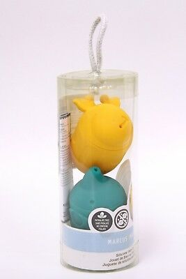 Mold-Free Squirting Bath Toys by Marcus & Marcus - 2 Pack (Ollie & Lola)