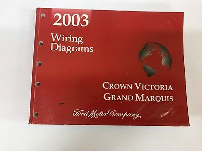 2010 ford crown victoria factory service manual with wiring diagrams 2003 ford crown victoria grand marquis factory shop wiring diagrams manual oem cheapraybanclubmaster Image collections