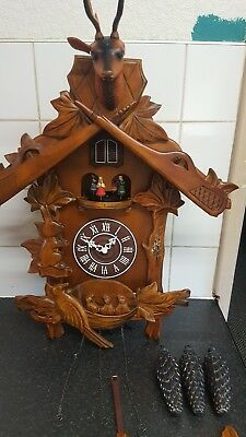 Big Musical  Cuckoo Clock Spares Repair