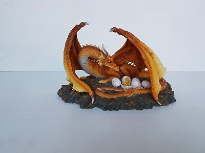 Mother Dragon with Eggs Statue 13cm Veronese Design Studio Collection NEW RARE!