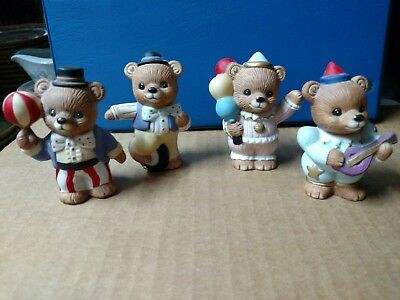 Vintage Homco Circus Bears Collectible Figurines