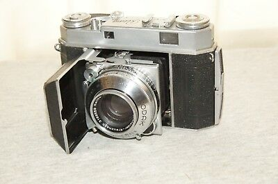 KODAK RETINA IIA WITH 50mm f2 ZENON AND CASE