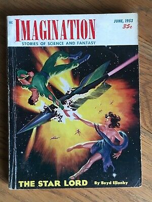 Imagination - US SF/Fantasy digest June 1953 - Paycheck by Philip K. Dick etc