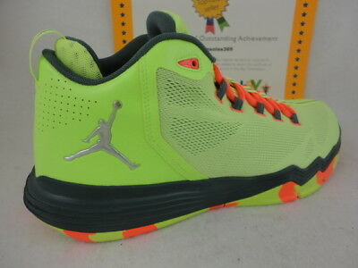 0696a1effe9803 NIKE JORDAN CP3.IX AE X 9 Chris Paul White Green Mens Basketball ...