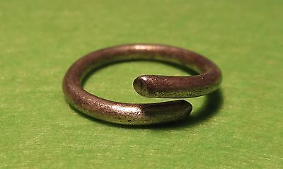 Scythian-Sarmatia Silver Old Ring - Temporal 7-3 th Century BC  2.1 grams