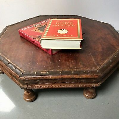 Antique/vintage Indian Furniture. Hindu Prayer Table. Contemporary Coffee Table?