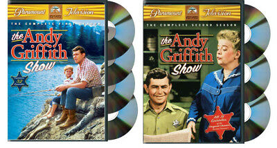 The Andy Griffith Show : Complete First Season & Second Season (2 DVD Box Sets)