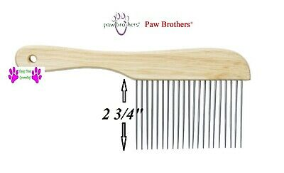 Master Grooming Tools Ultimate Coarse Comb W//Wooden Handle