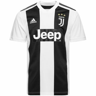 Juventus Home Shirt 2018/19 (Ronaldo 7 available in stock)