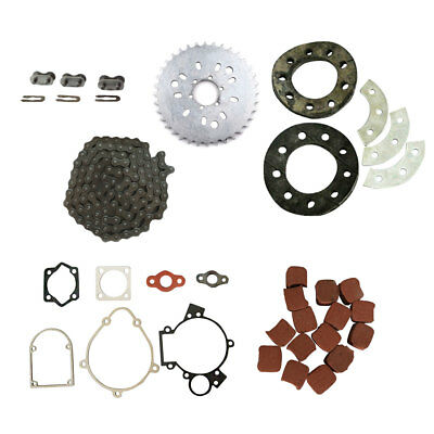 415 Chain /& 3x415 Chain Master /& Drive Sprocket For 49cc 80cc Motorized Bicycle