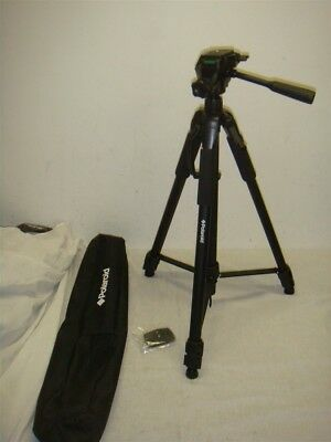 """Polaroid 72"""" Photo/video Tripod W Carrying Case & Extra Quick Release Plate!"""