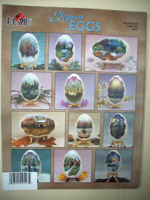 Elegant Eggs decorative folk painting instruction patterns