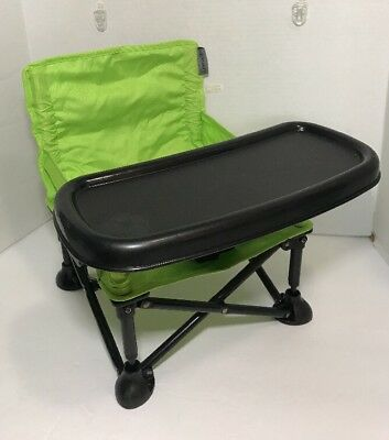 Summer Infant® Pop Nu0027 Sit Portable Booster Baby High Chair Indoor/Outdoor Lime & SUMMER INFANT® POP Nu0027 Sit Portable Booster in Aqua Baby High Chair ...