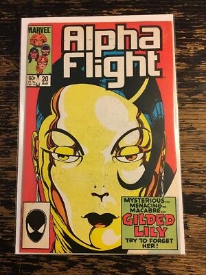 Alpha Flight # 20 (1985 Marvel) Combine Shipping Discount