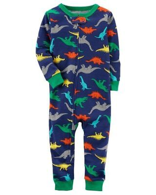 5c5047d241 Carter s Baby Boy 1Pc Dinosaurs Footless L s Cotton Sleeper Pajamas 12M 18M