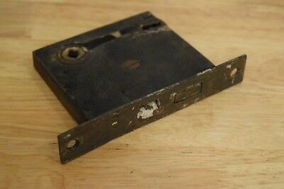 Vintage Antique Door Mortise Lock Only-No Knob,Key or Other Hardware Included