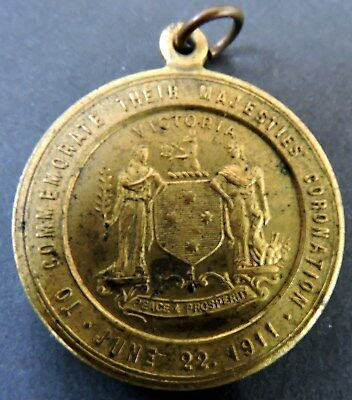 1937 Commemorative Medal - King George & Queen Mary Coronation 1911