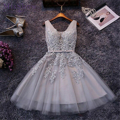 Short Homecoming Dresses Formal Party Prom Ball Gown Evening Bridesmaid US Stock