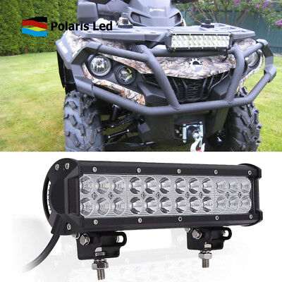 12 Inch Led Light Bar Spot Flood Combo Beam Driving Lights For Can-Am Renegade