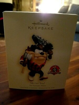 HALLMARK KEEPSAKE ME GET TREE! TAZ - LOONEY TUNES, new in box