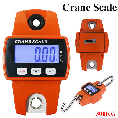 Portable Industrial Crane Scale Digital Electronic Hook Hanging Weight 300kg