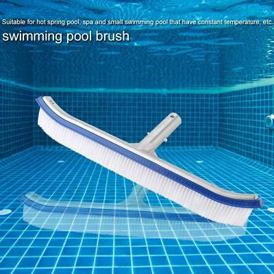 "10""/18"" Swimming Pool Spa Spring Pool Cleaning Brush Head for Cleaning Pool Wall"
