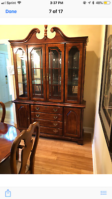 American Drew Cherry Grove 12 Piece Dinning Set W China Cabinet