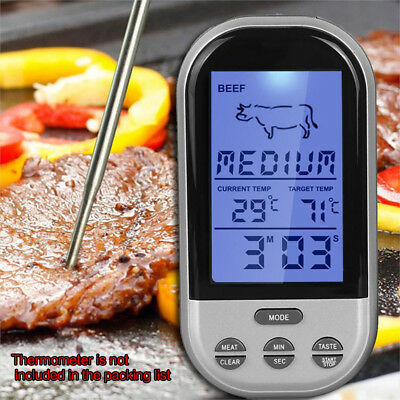 Kitchen Digital Probe Thermometer Food Cooking BBQ Meat Steak Cooking Tool