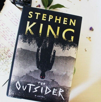 The Outsider: A Novel by Stephen King (2018, Hardcover) Free Shipping