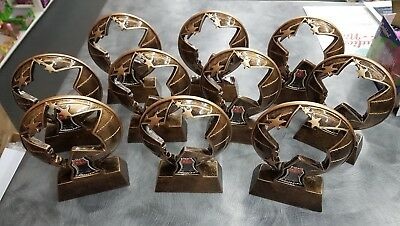 10 x  130mm Netball Trophies Discontinued Range.