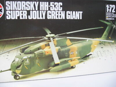 Sikorsky HH-53C Super Jolly Green Giant,Helicopter Airfix 06003, Bausatz 1:72
