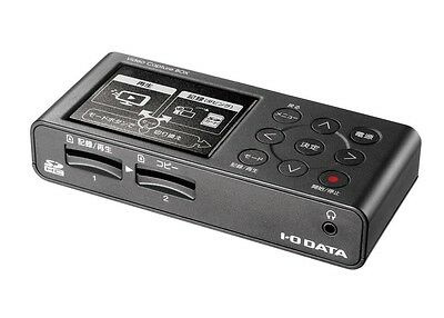 I-O DATA Video VHS 8mm dubbing SD card HDD storage PC Unnecessary Video Capture