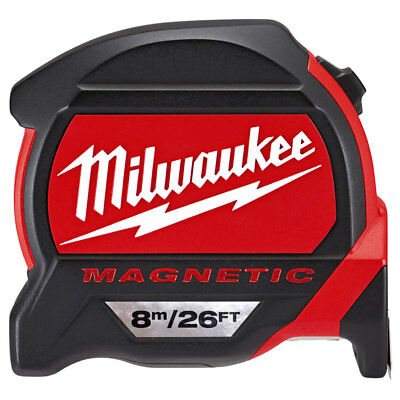 Milwaukee 4932464178 8m/26ft Premium Magnetic Tape Measure