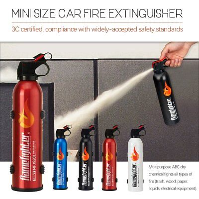 Fire Extinguisher ABE Professional Dry Powder & Bracket Fighter Car Boat Home CO