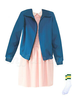 Eleven Fancy Dress Costume Eleven Dress Jacket Stranger Costume Things Outfit