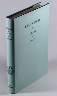 Antique Glass Bibliography - Corning Museum of Glass Book + Catalog Reference