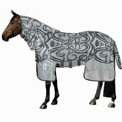 """Horseware Amigo All-In-One Bug Buster Vamoose Fly Sheet With No Fly Zone 66"""""""