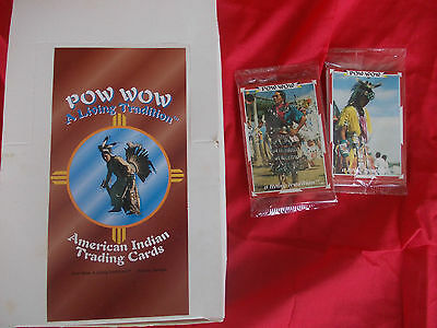 Trading Cards- Native American Pow Wows