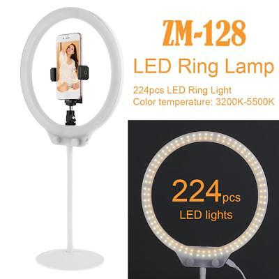 ZM-128 Foto Video 58W 224pcs LED-Ring Licht 5500k dimmbare Make up Ring Lampe
