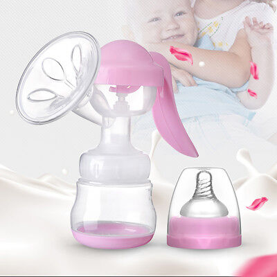 Suckling Period Women Manual Breast Pump Suction Teat Storage Bottle Stunning